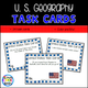 United States Geography Task Cards - Staying Cool in the Library