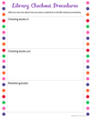 Digital School Library Planner (Google Slides) - Staying Cool in the Library