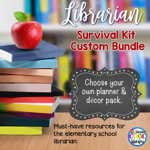 Ultimate School Librarian Survival Kit - Custom Bundle