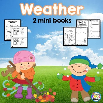 Weather Mini Books (Emergent Reader)