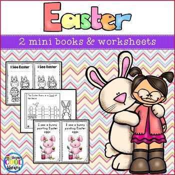 Easter Mini Books Mini Books (Emergent Reader)