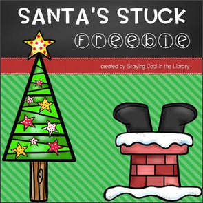 Santa's Stuck Book Companion Freebie