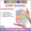 Biography Report Templates and Graphic Organizers - Google Slides