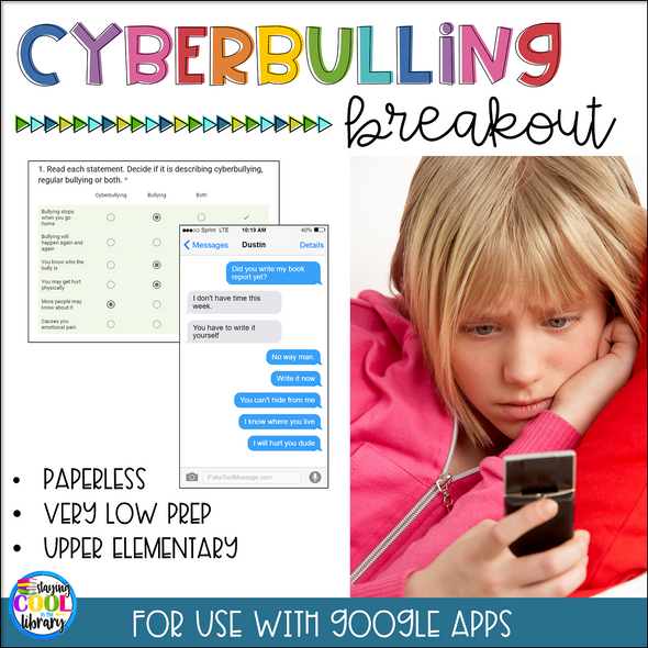 Cyberbullying Digital Breakout (Cyber bullying)