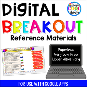 reference materials digital breakout - staying cool in the library