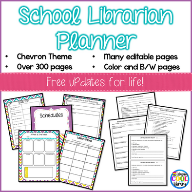 School Library Planner - Staying Cool in the Library