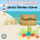 Elementary Library PowerPoint Review Game - Staying Cool in the Library