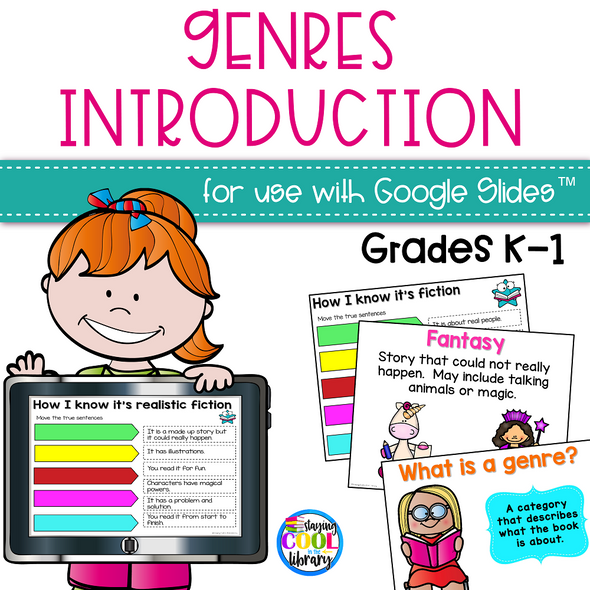 Genres Review Activity for Google Slides