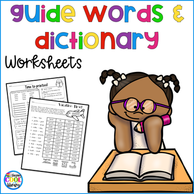 Dictionary Skills and Guide Words Worksheets