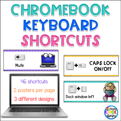 Chromebook Keyboard Shortcuts Posters