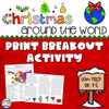 christmas print breakout - staying cool in the library