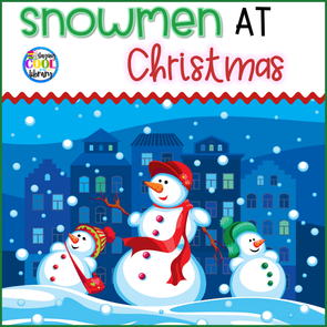 Snowman at Christmas Literacy Activities