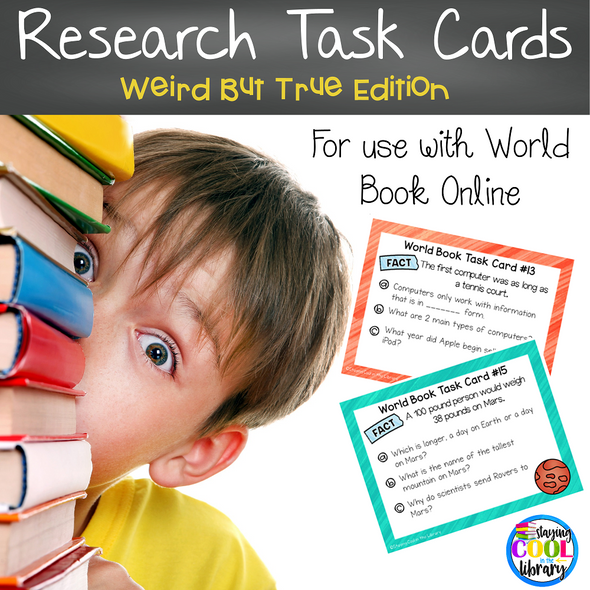 Online Encyclopedia Research Task Cards