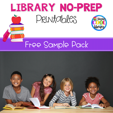 Elementary Library No Prep Printables - Free Sample - Staying Cool in the Library