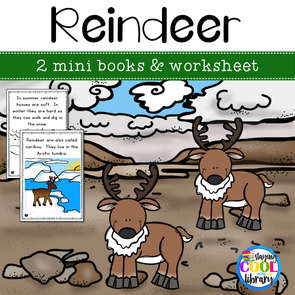 Reindeer Mini Books