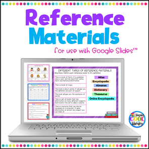 Reference Materials for Google Slides - Staying Cool in the Library