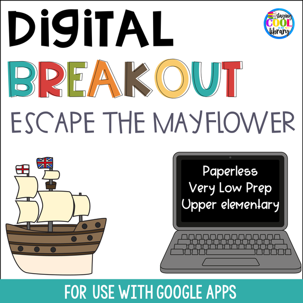 thanksgiving digital breakout - staying cool in the library