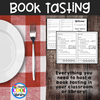 Book Tasting Activity Packet - Staying Cool in the Library