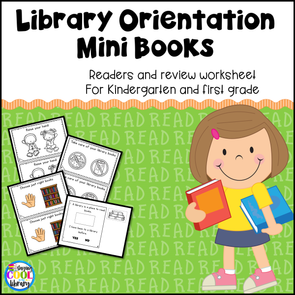 Library Orientation and Rules - Mini Books and Printables - Staying Cool in the Library
