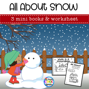 Snow Mini Books