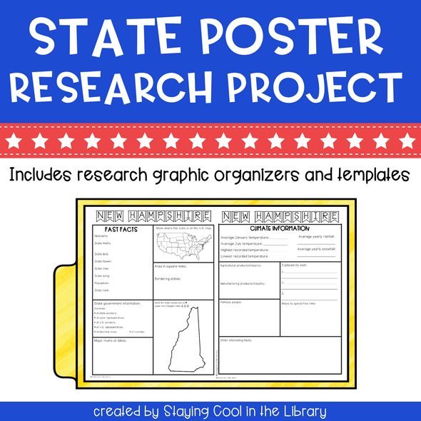 State Research Poster Projects - Staying Cool in the Library
