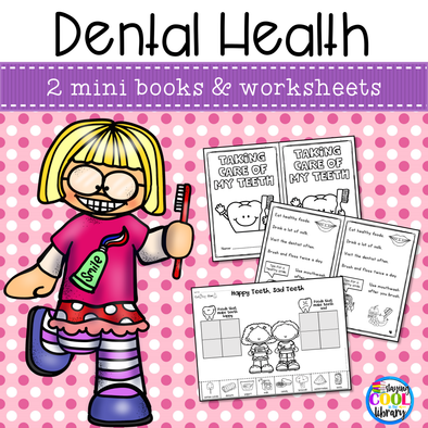 Dental Health Mini Books