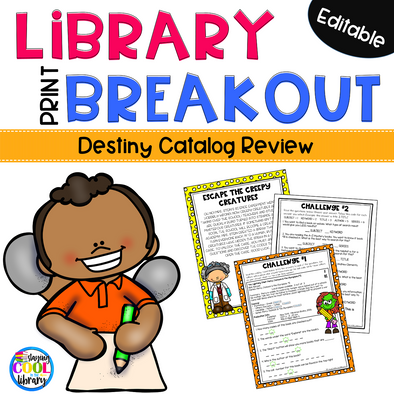 library breakout - staying cool in the library