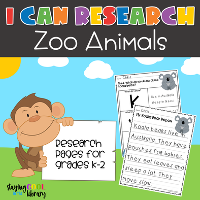 I Can Research - Zoo Animals