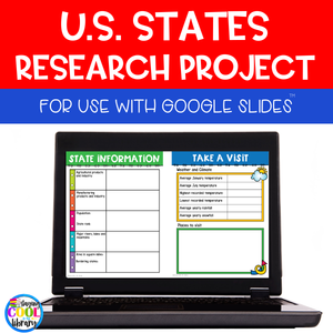 State Research Project - Digital for Google Slides