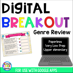 genre review digital breakout - staying cool in the library
