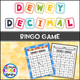 Dewey Decimal System Bingo Game - Staying Cool in the Library