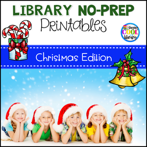 Library No Prep Printables - Christmas