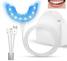 Luminex Teeth Whitening Waterproof USB Powered LED Light with integrated Mouth Trays Connected with iPhone & Android - My Dental Wig