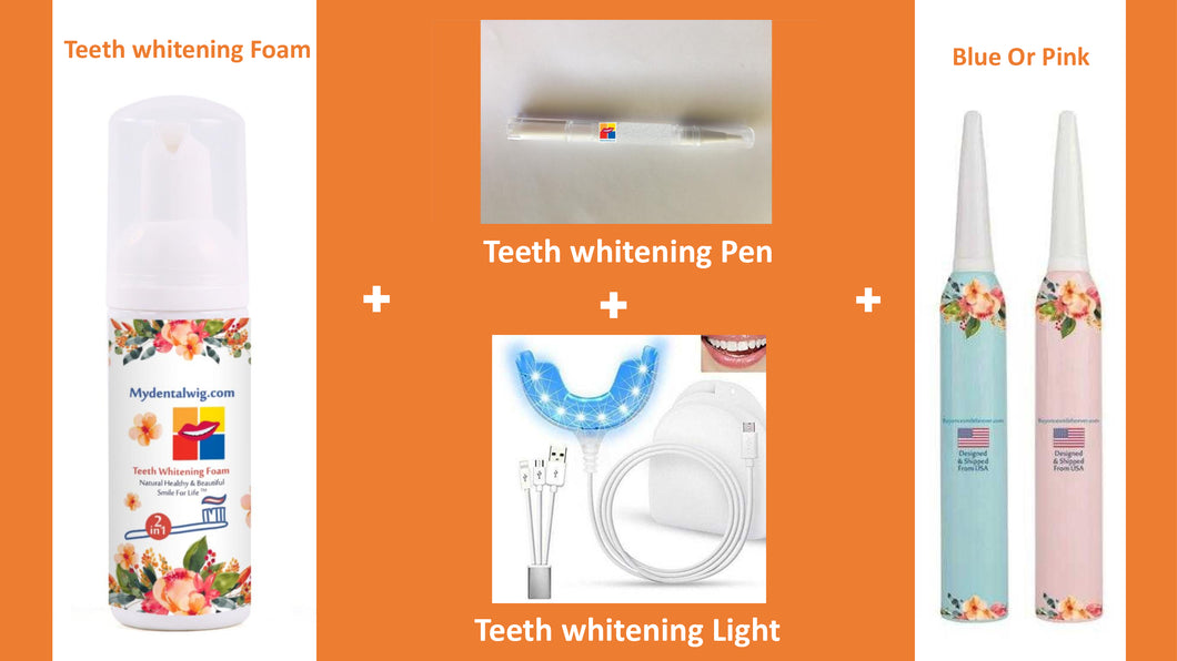 Elegant Patriotic & Smart Teeth whitening Kit™