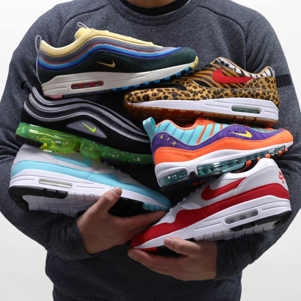 6f7da7a2bda Sesinko and Sneaker Train are celebrating Air Max Day 2018 with some of the  classics along with the retros. From the original Nike Air Max 1