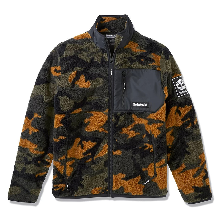 TIMBERLAND CAMO FLEECE JACKET