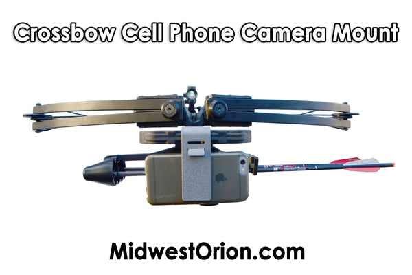 Crossbow Camera Mount - Cell Phone Video Camera Mounts