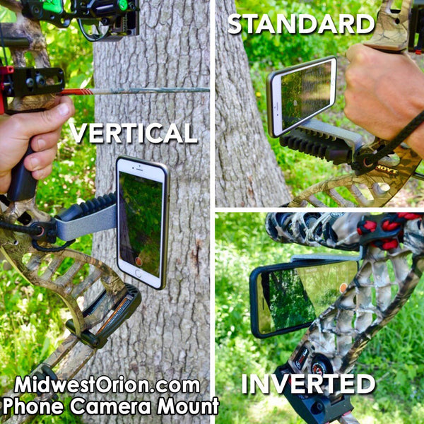 Bow Camera Mount for Smartphone: The Fatso - Video Record