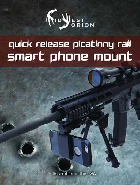 Rifle Camera Mount - Video Record Gun Shots - Shooting Accessories