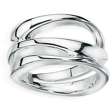 three layered ring