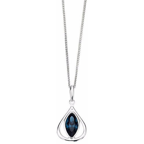 Montana Swarovski Crystal teardrop necklace