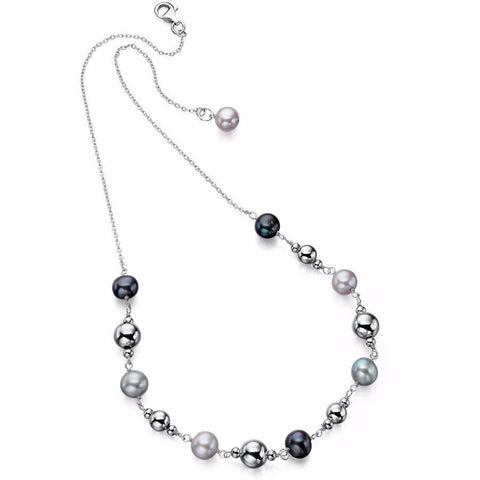 Modern freshwater pearl necklace