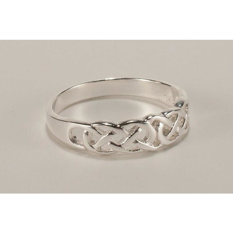 Sterling silver celtic ring (traditional)