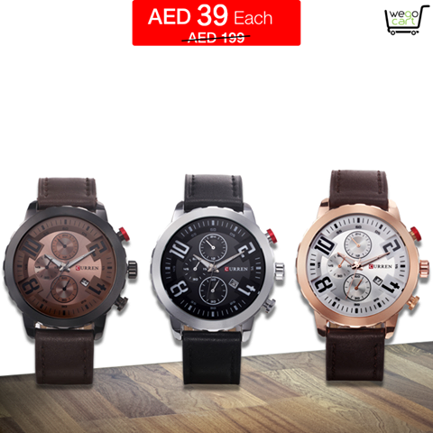 Curren Willtoo Sport Watch - Flash Sale @AED 39