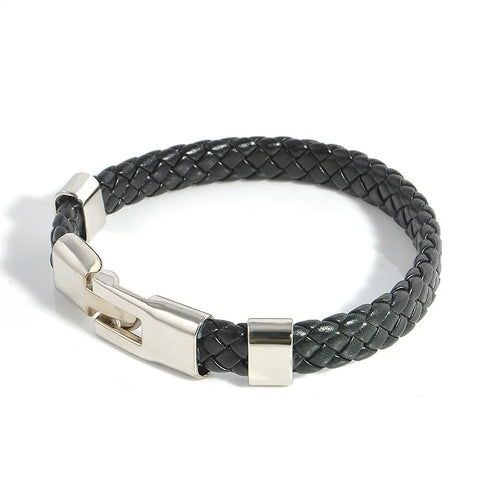 High Quality Leather Unisex Buckle Bracelets
