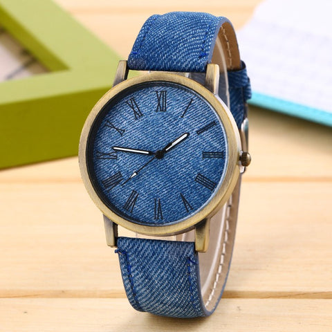 Jeans Band Unisex Quartz Watch
