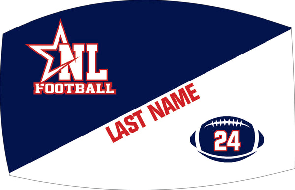 Personalized Mask (Optional Purchase) Adult Sizes Only - NL Football Team Order (Player Only)