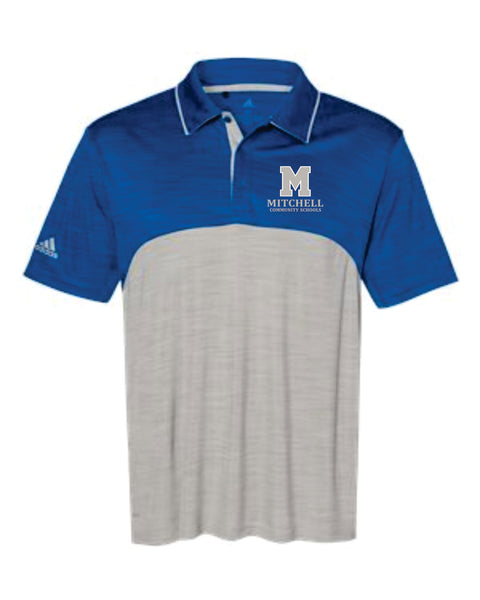 6 - Adidas Colorblock Polo - MCS Staff Apparel