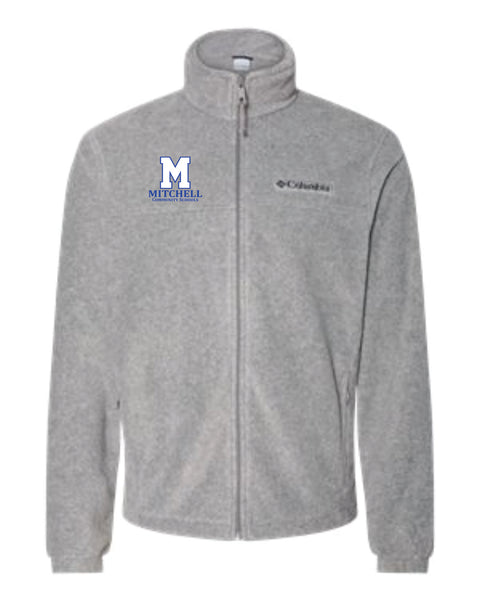 12 - Columbia Brand Full Zip Jacket - MCS Staff Apparel