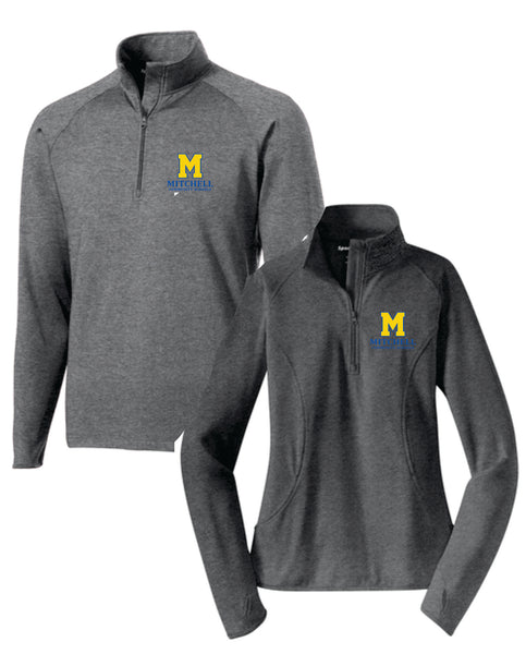 4 - Sport Tek 1/4 Zip Pullover (Mens and Womens Cut) - MCS Staff Apparel